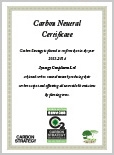 Carbon Neutral Certificate