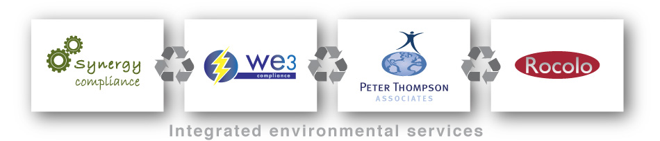 Synergy Compliance, WE3 Compliance, Peter Thompson Associates and Rocolo - Integrated environmental services